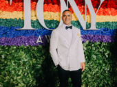 Here comes the General! Hamilton Tony nominee Christopher Jackson is presenting tonight.