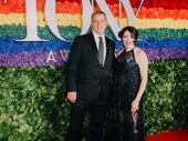 Rachel Chavkin and Jake Heinrichs hit the red carpet. Hadestown marks Chavkin's second Tony Award nomination for Best Direction of a Musical.