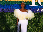 The camera loves Tony winner Cynthia Erivo.