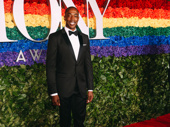 Broadway Inspirational Voices founder Michael McElroy suits up. The Broadway Inspirational Voices are being honored with a special Tony Award for Excellence in the Theatre.