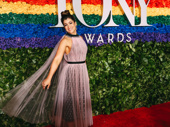 What's gonna happen? Tootsie Tony nominee Sarah Stiles takes a photo.
