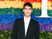 Screen and stage favorite Darren Criss snaps a pic.