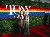 Tony host James Corden and his wife Julia Carey are ready for Broadway's biggest night!
