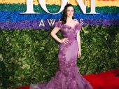 The Ferryman's Tony-nominated star Laura Donnelly strikes a pose.