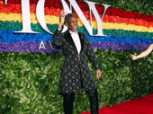 Hadestown Tony nominee André De Shields knows how to work a red carpet.
