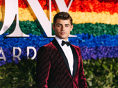 Hairspray Live! standout Garrett Clayton attends the 2019 Tony Awards.