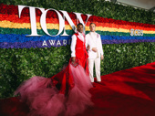 Tony winner and Pose star Billy Porter and husband Adam Smith have arrived.
