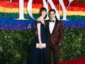 Oklahoma! Tony nominee Damon Daunno and his wife Kirsty Woodward attend the 2019 Tony Awards.