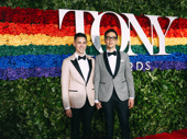 The Boys in the Band's Jim Parsons and his husband Todd Spiewak attend the 2019 Tony Awards.