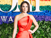 My Fair Lady star Laura Benanti serves looks on the red carpet.