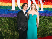 What the Constitution Means to Me's Tony-nominated scribe and star Heidi Schreck hits the red carpet with her husband Kip Fagan.
