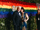 Theater couple Patrick Page and Paige Davis are red-carpet ready.