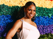 Six-time Tony winner and Frankie and Johnny in the Clair de Lune star Audra McDonald strikes a pose.