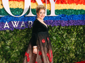 Oklahoma! Tony nominee Mary Testa takes a photo.