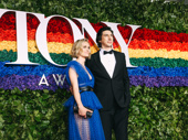 Burn This Tony nominee Adam Driver steps out with his wife Joanne Tucker.