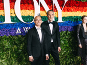 Network's Tony-nominated director Ivo van Hove and Tony-nominated scenic and lighting designer Jan Versweyveld snap a pic.