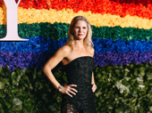 Kiss Me, Kate Tony winner Kelli O'Hara hits the red carpet.