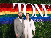 Hadestown Tony nominee Amber Gray and her husband Gaylen Hamilton are amped for the big night.