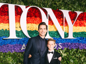 The Boys in the Band's Matt Bomer and his son Henry look adorable on the red carpet.