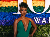Emmy Award winner and Tony Awards presenter Samira Wiley attends Broadway's biggest night.