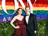 Waitress composer Sara Bareilles and Joe Tippett snap a delicious pic.