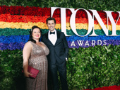 The Boys in the Band's Andrew Rannells attends the Tony Awards with his BFF Zuzanna Szadkowski.