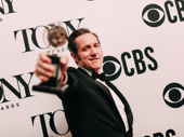 Bertie Carvel wins the Tony Award for Best Featured Actor in a Play for his portrayal of Rupert Murdoch in Ink.