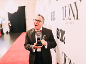 Scribe Robert Horn wins a Tony for Best Book for Tootsie.