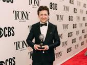 Bradley King won Best Lighting Design of a Musical for Hadestown.