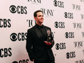 Santino Fontana wins his first Tony Award for Best Leading Actor in a Musical.