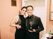 Stephanie J. Block and Santino Fontana won Tonys for their leading turns in The Cher Show and Tootsie, respectively.