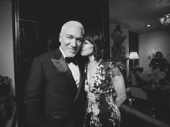 Theater couple Patrick Page and Paige Davis get together.