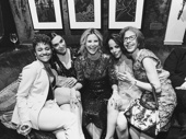 Girl power! Ariana DeBose, Waitress star Shoshana Bean, Michelle Kitrell, Beetlejuice's Leslie Kritzer and Jackie Hoffman unite.