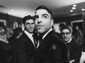 The Boys in the Band's Zachary Quinto is ready for his close-up.