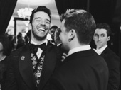 Jack DiFalco makes his former Torch Song castmate Michael Urie crack up.