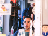 Come From Away's Caesar Samayoa takes it all in.