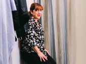 Come From Away's Sharon Wheatley takes a moment backstage.