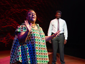 Myra Lucretia Taylor and James Udom in The Rolling Stone.