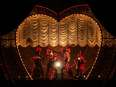 Jacqueline B. Arnold as La Chocolat, Robyn Hurder as Nini, Holly James as Arabia and Jeigh Madjus as Baby Doll Moulin Rouge!
