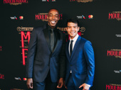 Broadway faves Michael McElroy and Telly Leung step out.