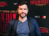 Broadway alum Mauricio Martinez works the red carpet.