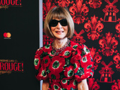 Vogue Editor-in-Chief Anna Wintour strikes a pose.