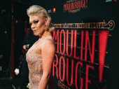 Moulin Rouge! standout Robyn Hurder is red-carpet ready.