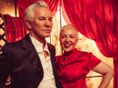 Moulin Rouge film director Baz Luhrmann with wife (and frequent collaborator) Catherine Martin.