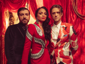 Moulin Rouge! stars Tam Mutu, Karen Olivo and Aaron Tveit must be seen to be believed.