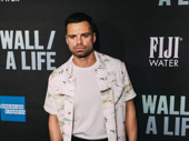 Sebastian Stan attends opening night of Sea Wall/A Life.