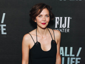 Maggie Gyllenhaal steps out to support her brother Jake on opening night of Sea Wall/A Life.