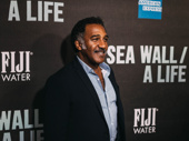 Tony nominee Norm Lewis hits the red carpet.