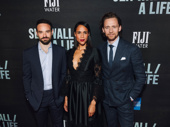 Broadway's Betrayal stars Charlie Cox, Zawe Ashton and Tom Hiddleston get together.