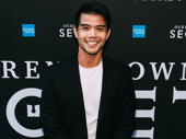 Broadway's Telly Leung is all smiles for magic.